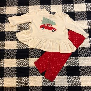 BabyGAP Christmas Outfit Set